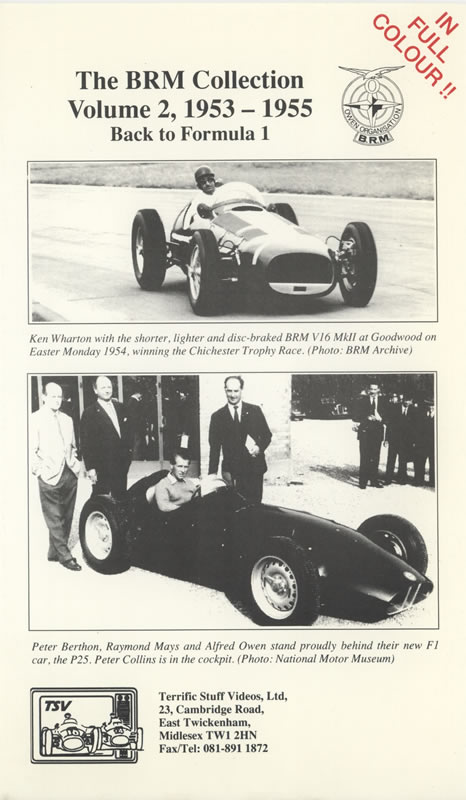 The BRM Collection (Volume Two 1954-55)