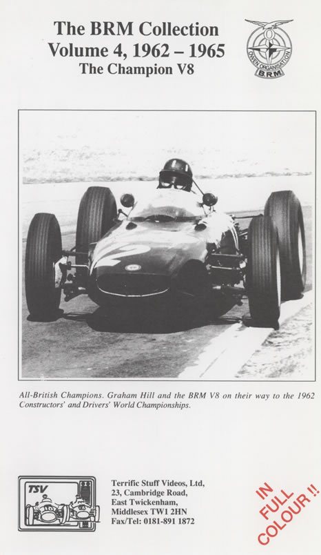 The BRM Collection (Volume Four 1962-65)